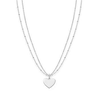 Thomas Sabo Sterling Silver Love Engravable Heart Necklace - Product number 5699029