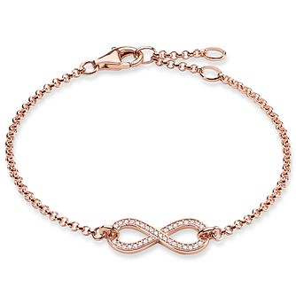 Thomas Sabo Rose Gold Plated Stone Set Bracelet - Product number 5699088