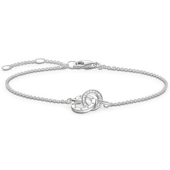 Thomas Sabo Sterling Silver Diamond Bracelet - Product number 5699347