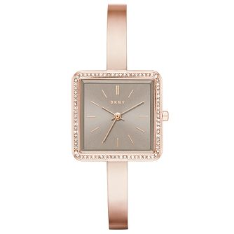 DKNY Ladies' Rose Gold Tone Bracelet Watch - Product number 5704987