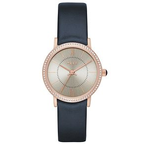 DKNY Ladies' Gold Tone Strap Watch - Product number 5705029