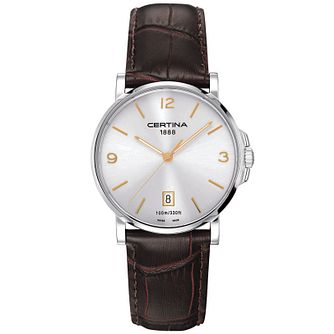 Certina DS Caimano Men's Stainless Steel Strap Watch - Product number 5706440