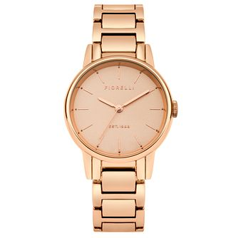Fiorelli Ladies' Rose Gold Plated - Product number 5707188