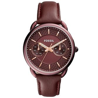 Fossil Tailor Ladies' Ion Plated Strap Watch - Product number 5709865