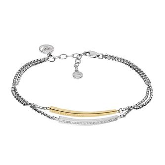 Emporio Armani Two Colour Stone Set Bracelet - Product number 5711363