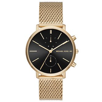 Michael Kors Men's Gold Tone Bracelet Watch - Product number 5712386