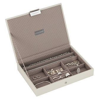 Stackers Vanilla Lidded Jewellery Box - Product number 5712432