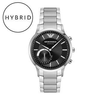 Emporio Armani Connected Men's Bracelet Hybrid Smartwatch - Product number 5712637