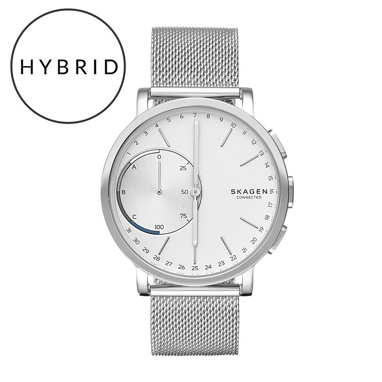Skagen Connected Men's Stainless Steel Hybrid Smartwatch - Product number 5712718