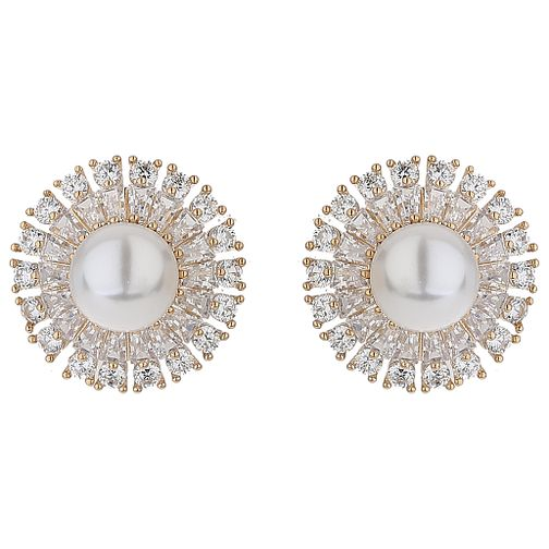 Mikey Cubic Zirconia Baugette Pear Earrings - Product number 5714869