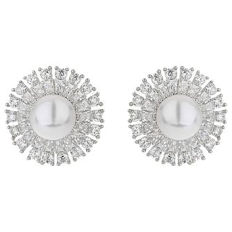 Mikey Cubic Zirconia Baguette Pear Earrings - Product number 5714877