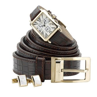 Rotary men's belt and chronograph strap watch - Product number 5717620
