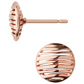 Links of London Rose Gold Vermeil Thames Stud Earrings - Product number 5718023
