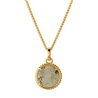 Links of London 18ct Yellow Gold Vermeil Amulet Disc Pendant - Product number 5718082