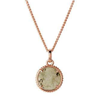 Links of London 18ct Rose Gold Vermeil Amulet Disc Pendant - Product number 5718090