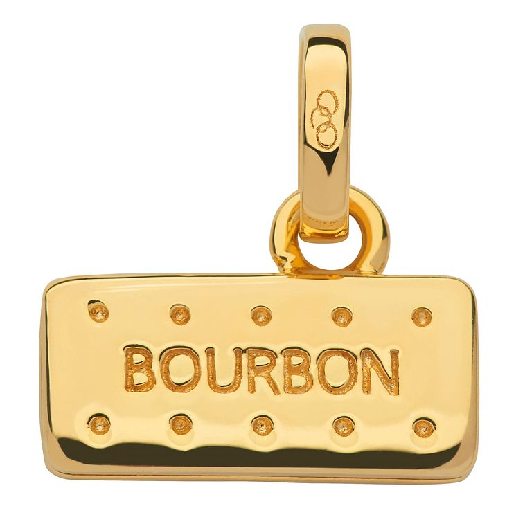 Links of London Yellow Gold Vermeil Bourbon Biscuit Charm - Product number 5718392
