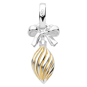 Links of London Yellow Gold Vermeil Christmas Drop Charm - Product number 5718473