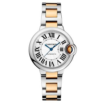 Cartier Ballon Blue Ladies' Two Colour Bracelet Watch - Product number 5724260