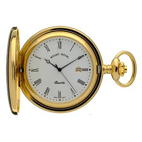 Mount Royal Gold Plated Pocket Watch - Product number 5738415