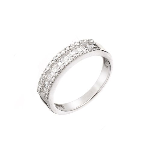 18ct white gold 0.50ct diamond ring - Product number 5785588