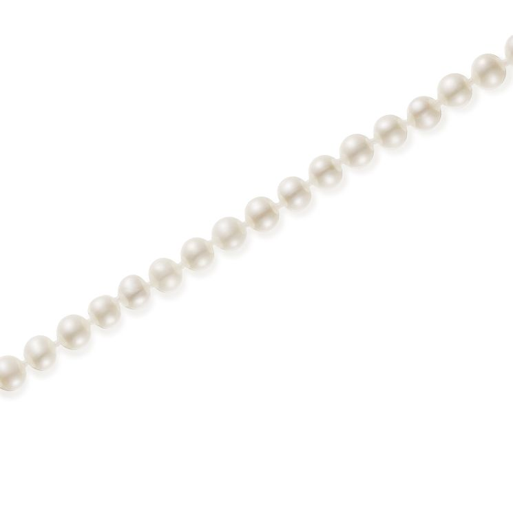 "9ct Gold 5mm Cultured Freshwater Pearl 22"" Necklace - Product number 5819083"