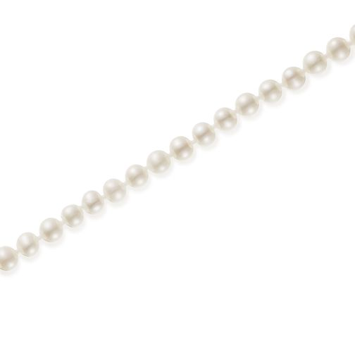 "9ct Gold 5mm Cultured Freshwater Pearl 24"" Necklace - Product number 5819105"