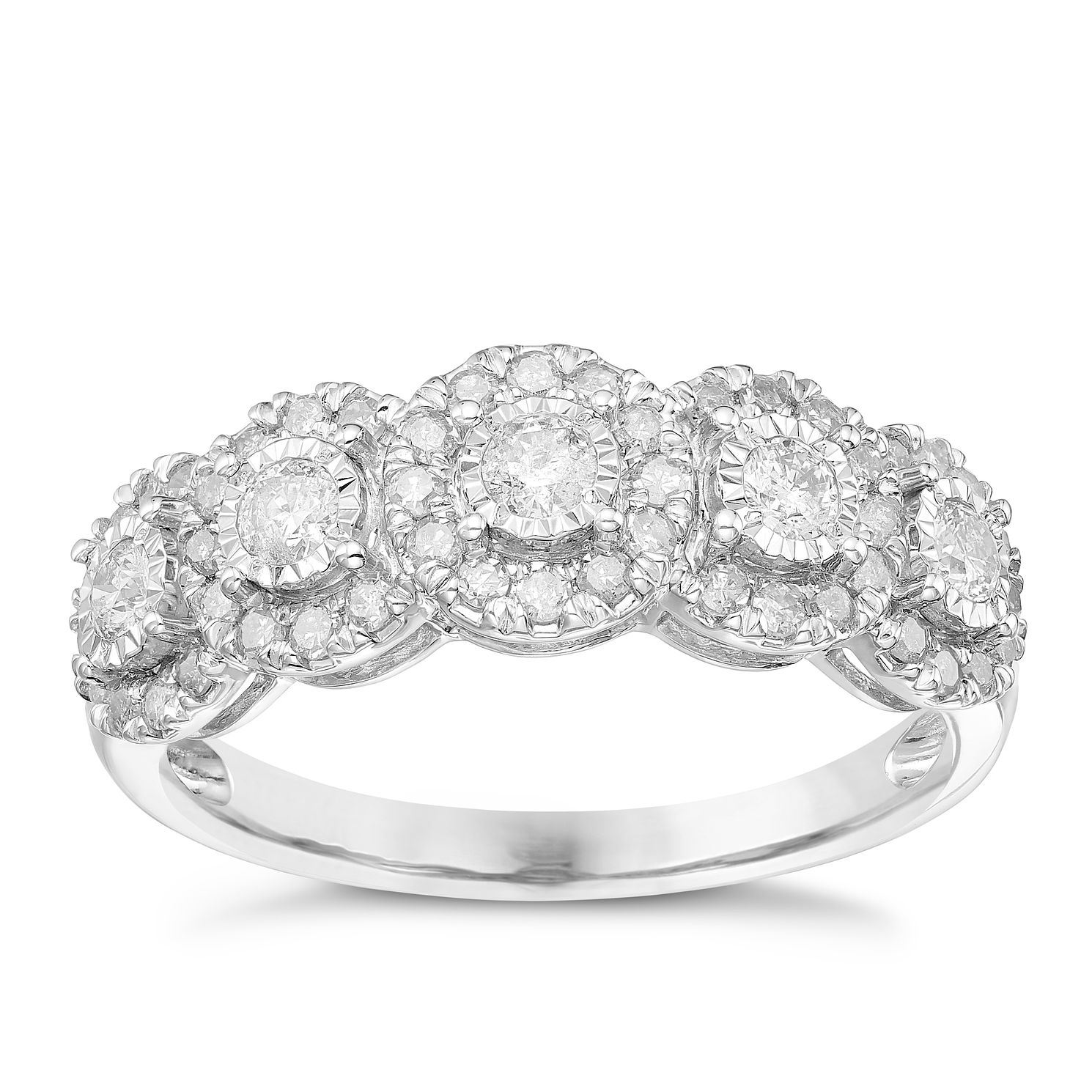 baguette bands jean pierre cut diamond wedding jewelers round eternity band engagement half g for img w her