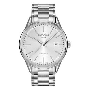 Roamer Superior Men's Stainless Steel Bracelet Watch - Product number 5837340