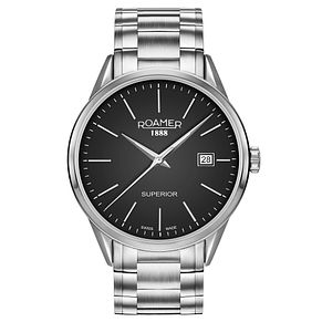 Roamer Superior Men's Stainless Steel Bracelet Watch - Product number 5837359