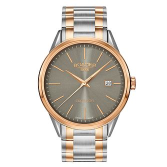 Roamer Superior Men's 2 Colour Stainless Steel Watch - Product number 5837367