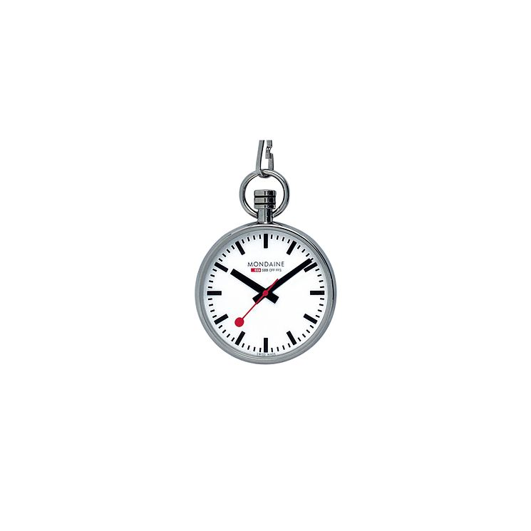 Mondaine Men's Stainless Steel Pocket Watch - Product number 5837812
