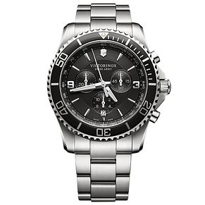 Victorinox Maverick Chronograph Men's Steel Bracelet Watch - Product number 5838312