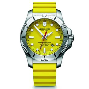Victorinox Professional Diver Men's Yellow Rubber Watch - Product number 5838436