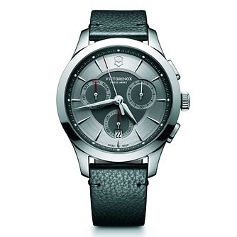 Victorinox Alliance Chronograph Men's Black Strap Watch - Product number 5838509