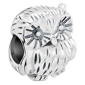 Chamilia Sterling Silver What A Hoot Charm - Product number 5845408