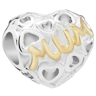 Chamilia Mum Yellow Gold Plated Bead - Product number 5845653