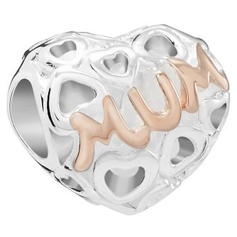 Chamilia Captured Mum Charm with Rose Gold Electroplating - Product number 5845661