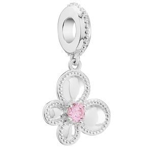Chamilia Flutter Swarovski Pink Zirconia Bead - Product number 5845882