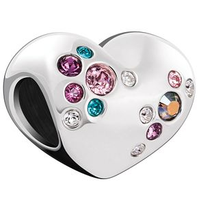 Chamilia Crystal Cluster Heart Bead - Product number 5845904