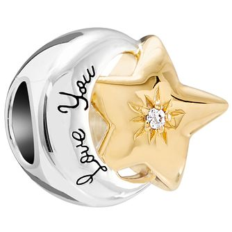 Chamilia My Moon and Stars YG Plate Charm - Product number 5845963