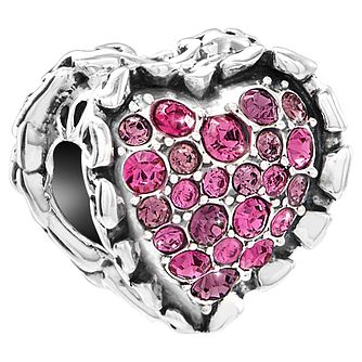 Chamilia Ruffled Heart Bead - Product number 5846005
