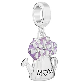Chamilia Sterling Silver Watering Can 'Mum' Charm - Product number 5853850