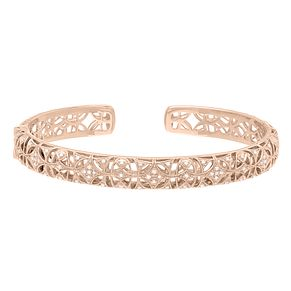 Neil Lane 14ct Rose Gold 0.31ct Diamond Bangle - Product number 5854997