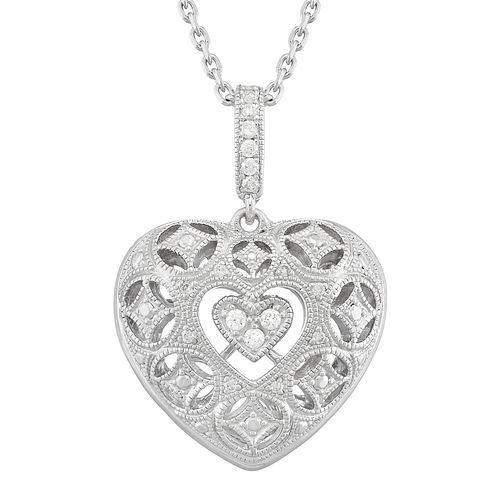 Neil Lane Designs 14ct White Gold 0.11ct Diamond Pendant - Product number 5855047