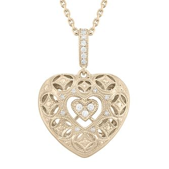 Neil Lane Designs 14ct Yellow Gold 0.11ct Diamond Pendant - Product number 5855055