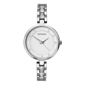 Sekonda Editions Ladies' Silver Bracelet Watch - Product number 5865743