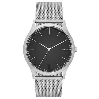 Skagen Men's Stainless Steel Mesh Strap Watch - Product number 5866197