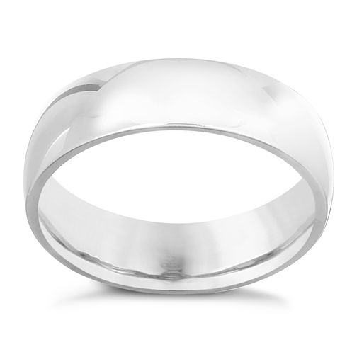 Palladium 950 6mm Super Heavy Court Ring - Product number 5901324