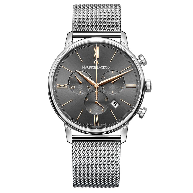 Maurice Lacroix Eliros Men's Stainless Steel Bracelet Watch - Product number 5925827