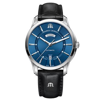 Maurice Lacroix Pontos Men's Stainless Steel Strap Watch - Product number 5925991